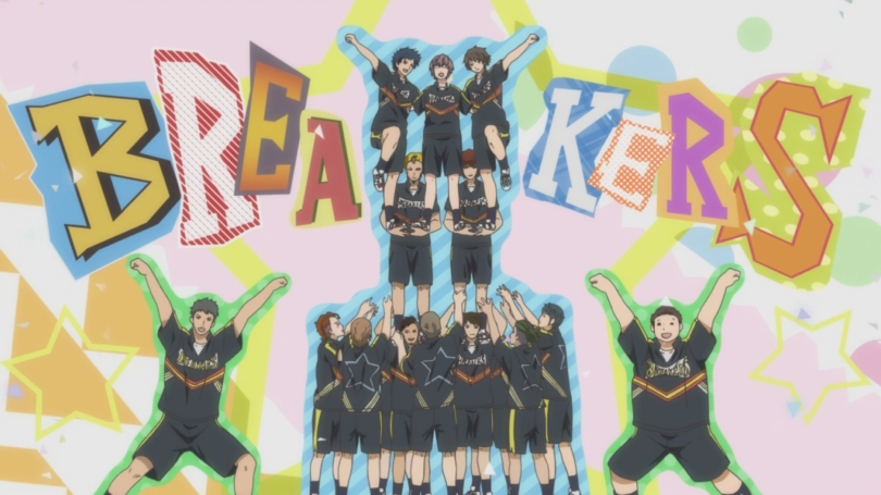 Cheer Boys Cheer Danshi Haruki Bandou Kazuma Complete Breakers Team End Credits Tower Pose