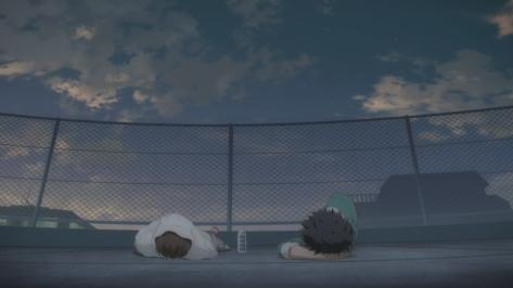 Cheer Boys Cheer Danshi Haruki Bandou Kazuma Hashimoto Rooftop Talk At Sunset Sky Fence