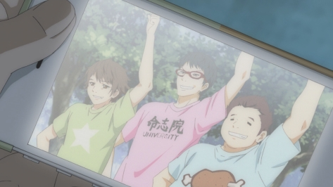 Cheer Boys Cheer Danshi Haruki Bandou Wataru Mizoguchi Kouji Toono Ton Awkward Smiles Practice Cell Phone Picture