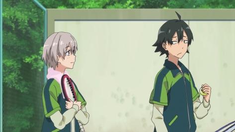My Teen Romantic Comedy SNAFU Yahari Ore no Seishun Rabukome wa Machigatteiru OreGairu Hachiman Hikigaya Saika Totsuka Blushing Tennis Gear