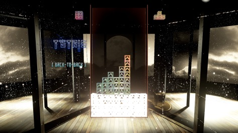 Tetris Effect Sunset Breeze Moments Stage